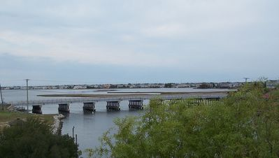 View of Rte 54 Bridge