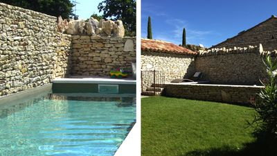 House 6 pers heart of Gordes!, Upscale, pool and garden