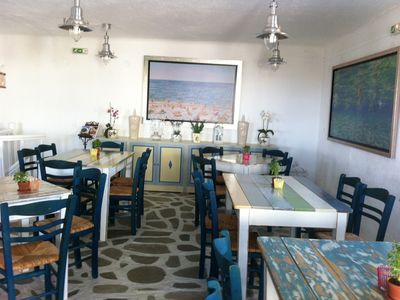Mykonos bungalow rental - Restaurant - Interior