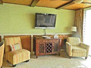 "Deerfield Beach condo photo - living area with 42"" plasma tv and comfortable seating"