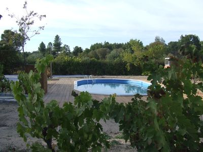 Cottage renovated with private pool in the countryside of a small village.