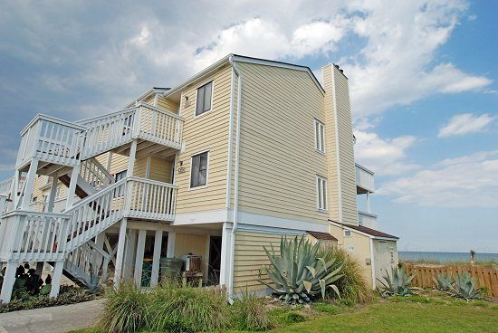 Kure Beach Vacation Rental Vrbo 475909 2 Br Southern