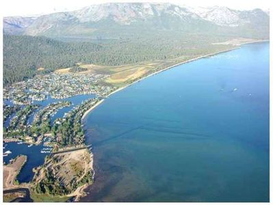 Tahoe Keys aerial view