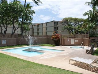 Makaha condo photo - Kiddie Pool and Jacuzzi.