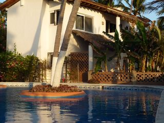 Bucerias villa photo - Casa Inglesa from the pool