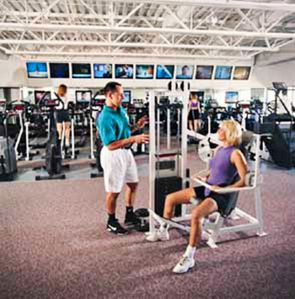 Fitness Facility at Lakeridge Tennis Club