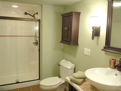 Bathroom of Attic Suite