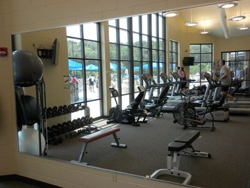 Fitness Center. 58' by 25', new TV's, new equipment.