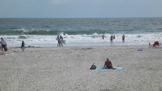 Tybee Island condo photo - At the beach