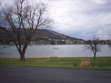 View of McHenry Cove and Wisp Ski Resort
