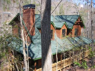 Ellijay cabin photo - A Warm, Cozy Piece of Paradise!
