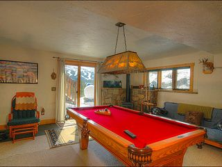 Breckenridge townhome photo - Pool Table and Speaker System Downstairs