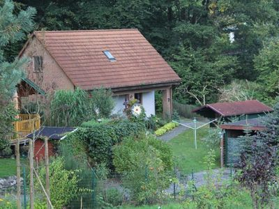 Holiday house with free wifi and lake near the Mecklenburg Lake District
