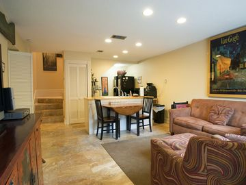 "Blue Mountain Beach townhome rental - Living Room - with 42"" HD TV"