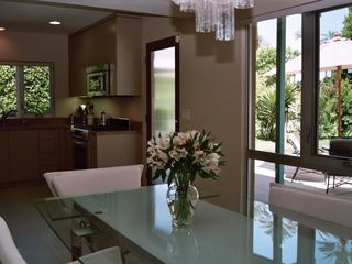 Rancho Mirage house photo - Looking from dining table back into kitchen.