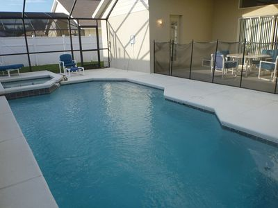 South facing pool with SPA, and Lanai
