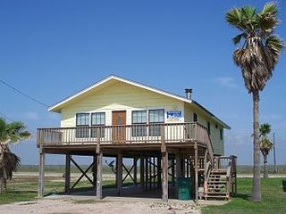 Surfside Beach cottage photo - Enjoy the sun from the deck or pull out the grill for a burger.