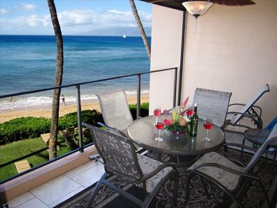 Expansive Views from your PRIVATE Lanai. Reach Out and Touch the Waves!