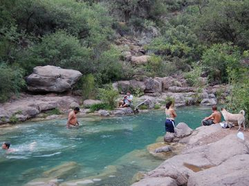 Fossil Creek is a few miles north, the Tonto Natural Bridge a few miles south.