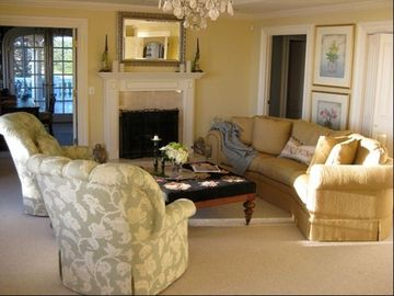 Comfortable sitting area in the Master bedroom