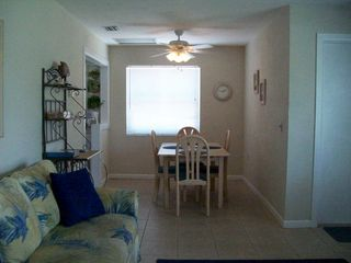 Fort Myers Beach house photo - Looking from the living room to the dining area