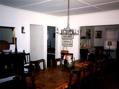 Dining room looking northeast