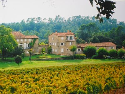 Lorgues apartment rental - Chateau de Mappe over vines: pool, tennis, boules