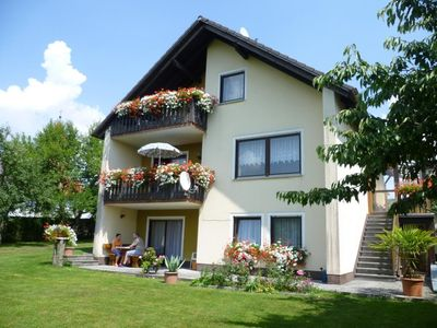 ***Apartment with garden in a tranquil location near Amberg Nuremberg Regensburg