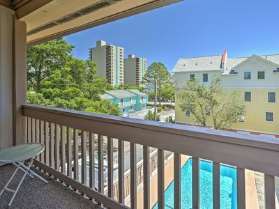NEW! 2BR Myrtle Beach Condo - Steps to the Beach!