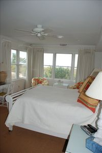 Lewes condo rental - Master Bedroom with View of Beachfront.