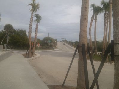 Newly re-modeled (12-2012) Manasota Beach entrance