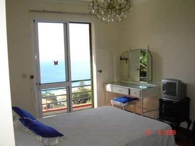 Main Bedroom with balcony