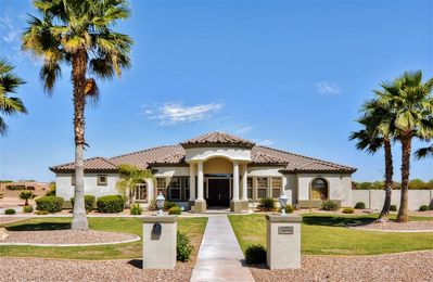 4BR Goodyear Home w/Private Tennis Court & Views