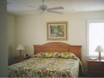 Roomy Master Bedroom with king size bed
