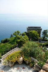 Amalfi villa photo - ancient tower near House Oliver