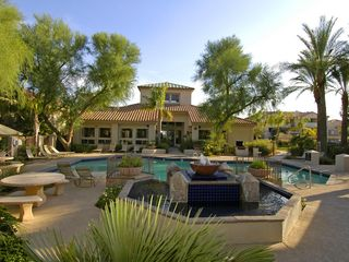 Ahwatukee condo photo - Main pool with the club house & gym in the background