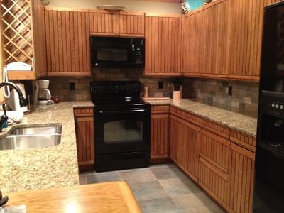 Plenty of room in this newly remodeled kitchen.