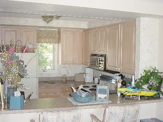 Petoskey condo photo - View into kitchen, upgraded appliances and cupboards