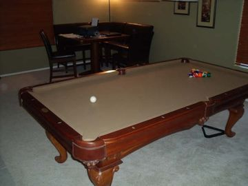 Billiard table/ Games Room
