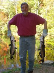 Blue Ridge cabin photo - Dan's Huge Cats Caught at 1 of 8 Stocked Lakes