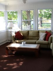 Living room overlooking lake - Greenwood Lake house vacation rental photo