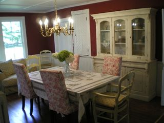 Southampton farmhouse photo - Dining Room