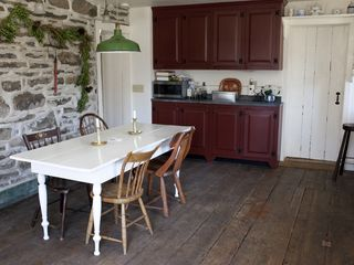 farm style kitchen - Hudson Highlands farmhouse vacation rental photo