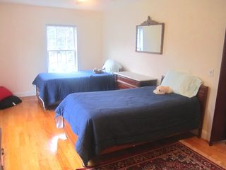 Oak Bluffs house photo - Twin bedroom on 2nd floor- WITH DOOR