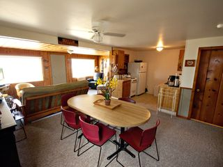 Lake Leelanau cottage photo - Enjoy a light dinner and get ready for those sunsets!