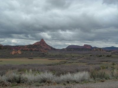 St. George townhome rental - Zion Flats going to Kolob