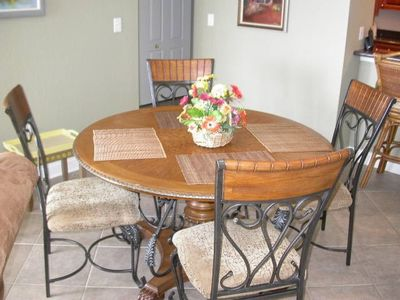 Clearwater Beach condo rental - Mandalay Beach Club (603) Dinning - Clearwater Beach