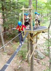 Sunapee house photo - Aerial challenge course at Mount Sunapee Adventure Park
