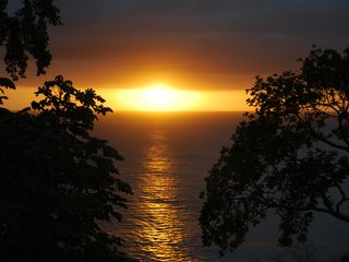 Aguadilla apartment photo - Breathtaking sunsets that you can enjoy from the apartment.
