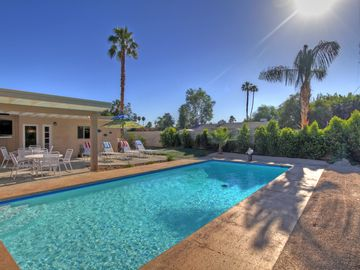 Palm Desert house rental - Private south facing heated pool with deep end